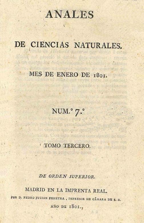 Societat valenciana de mineralogia anales de ciencias for Biblioteca digital real jardin botanico